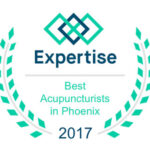 Best acupuncturist in phoenix badge for 2017